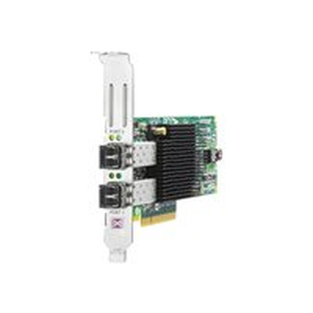 HP Enterprise 82E - Hostbus-Adapter - PCI Express 2.0 x4 / PCI Express x8 Low Profile8Gb Fibre Channel x 2, für ProLiant DL120 G7, DL165 G7, DL360 G7, DL360p Gen8, DL380 G6, DL380 G7, DL580 G5