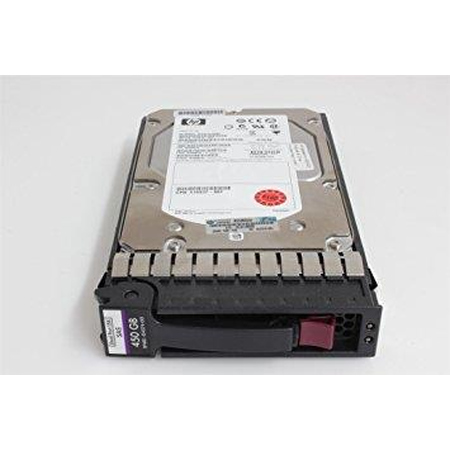 HP Enterprise Dual Port Enterprise - Festplatte 450 GB - Hot-Swap - 8.9 cm LFF (3.5 LFF) - SAS - 15000 rpm Bulk refurbished