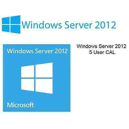Microsoft Windows Server 2012 (R2) 5 Benutzer User CALs