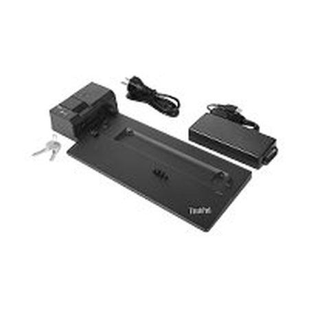Lenovo ThinkPad Pro Docking Station - Dockingstation - 2 x DP - 135 Watt - Korea, Europa - für ThinkPad A285 20MW, 20MX; A485 20MU, 20MV; P52s 20LB, 20LC; T480 20L5, 20L6; T480s 20L7, 20L8; T580 20L9, 20LA; X1 Carbon (6th Gen)  20KG - 20KH; X280 20KE - 20